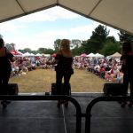 Great audience at Linslade Canal Festival yesterday